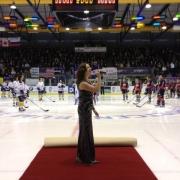 Wilhelmus Bekerfinale ijshockey